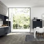 3-bucatarie minimalista moderna dulapuri gri crabune
