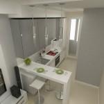 3-bucatarie moderna cu bar design Maria Grom