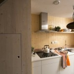 3-bucatarie moderna mica utilata casa prefabricata 45 mp Heijmans One Amsterdam