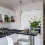 3-bucatarie moderna open space cu mobila alba
