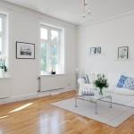 3 canapea alba interior living stil scandinav