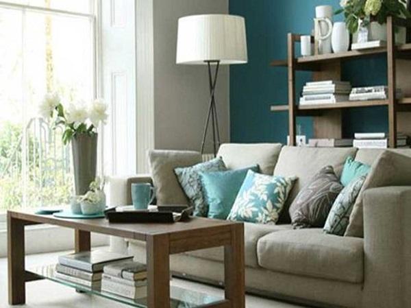 3-canapea gri deschis decor living modern bleumarin