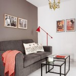 3-canapea gri pe fundalul unui perete gri decor living open space