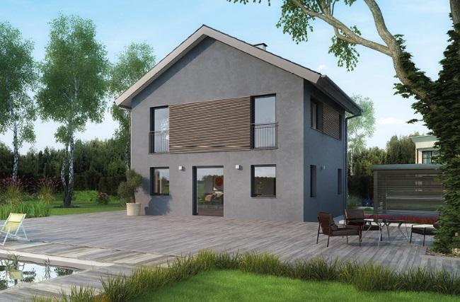 3-casa prefabricata Icon Haus de 108 mp parter si etaj
