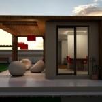 3 casa structura metalica cu terassa si 2 camere parter - Start House