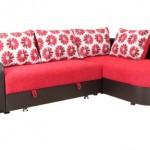 3-coltar extensibil model Ronda combinatie rosu cu negru magazin Naturlich
