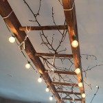 3-corp de iluminat spectaculos pentru terasa sau balcon dintr-o scara veche