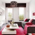 3-covoras roz asortat cu pernute decorative decor living modern