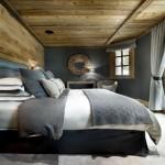 3-cuvertura si fete de perna crosetate decor de iarna pentru patul din dormitor