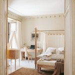 3-decor luminos si relaxant in dormitor amenajat si finisat in alb si diverse nuante de crem