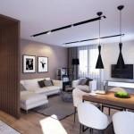 3-decor minimalist amenajare living modern de apartament