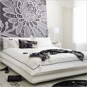 3-decor perete dormitor din macrame realizat manual