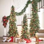 3-decoratiuni festive de Craciun pentru scara interioara din casa