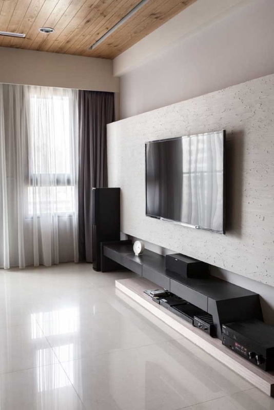 design comoda tv minimalista suspendata living modern