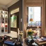 3-detalii decorative living modern finisat in gri si alb