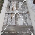 3-diagonalele usii trebuie sa aiba lungimi egale