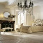 3-dormitor amenajat in stil clasic in nuante de alb si crem