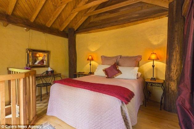 3-dormitor mansarda casa in forma de gheata pensiune noua zeelanda