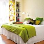 3-dormitor mic decorat in culori vesele si amenajat practic si confortabil