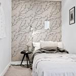 3-dormitor mic stil scandinav garsoniere apartament de 42 mp