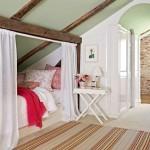3-exemplu amenajare dormitor romantic si intim in mansarda