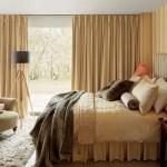 3-exemplu asortare perfecta a draperiilor cu peretii din dormitor