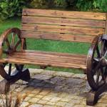 3-exemplu banca rustica din lemn reciclat