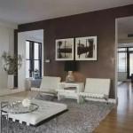 3-exemplu decor modern cu perete de accent finisat cu stucco veneziano