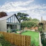 3-exterior casa Amfibie proiect ideal pentru zonele inundabile