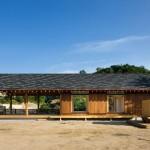 3-exterior laterata casa mica din lemn Coreea de Sud