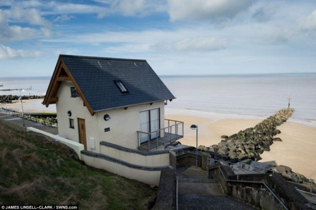 3-exterior spate casa vacanta plaja sheringham norfolk marea britanie