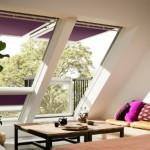 3-ferestre mansarda Velux Cabrio transforate in balcoane
