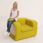 3-fotoliu extensibil galben verzui design Elena Sidorova