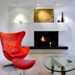 3-fotoliu rosu decor living modern minimalist alb