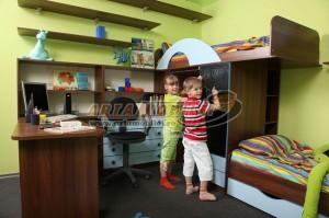 3-garnitura camera doi copii Vicky magazin Arta Mobilei