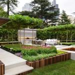 3-gradina moderna minimalista amenajata de arhitectul peisagist Nathan Burkett