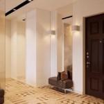 3-hol cu usa intrare wenge finisat in culori deschise