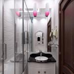3-idee amenajare baie foarte mica si ingusta design modern