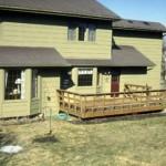 3-inainte de amenajare terasa din lemn banala