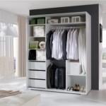 3-interior dressing COnstantin Alb cu bare umerase sertare si polite