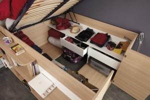 3-interior platforma inaltata de sub patul Space Up