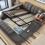 3-lada de depozitare sub patul multifunctional inventat de asiatici