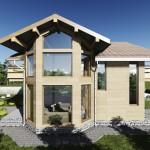 De la cititori: Proiect casa parter si etaj – suprafata desfasurata: 258 mp