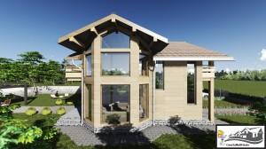 3 - lateral model casa parter etaj 258 mp