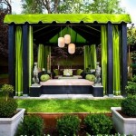 3-living de vara amenajat sub pergola tip pavilion de gradina