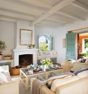 3-living in stil rustic mediteranean casa Malaga Spania