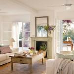3-living medtireanean amenajat in alb si culoarea untului casa frumoasa Formentera