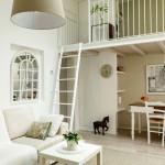 3-living open space cu acces spre mini mansarda
