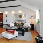 3-living stil scandinav apartament 3 camere mansarda