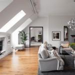 3-living stil scandinav apartament mansardat amenajat in stil scandinav
